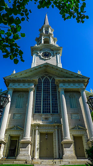 First Unitarian Church of Providence (Rhode Island) - Image: First Unitarian Church of Providence 2008