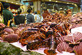 Fish stall at Barcelona market (2930230562).jpg