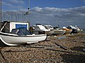 Fishing boats on Eastbourne Beach - geograph.org.uk - 1739710.jpg