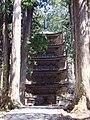 Five-storied pagoda, Mt.Haguro.jpg