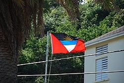 Bandera de Antigua y Barbuda  Wikipedia la enciclopedia libre