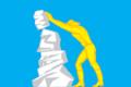 Flag of Bakal (Chelyabinsk oblast).png