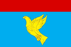 Menzelinsky District - Image: Flag of Menzelinsk rayon (Tatarstan)