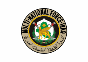 Iraq spring fighting of 2004 - Image: Flag of Multi National Force – Iraq
