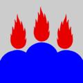Flag of Västmanland lan.png