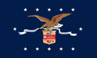 United States Department of Labor - Image: Flag of the United States Department of Labor