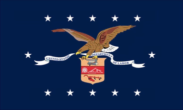 Flag of the United States Department of Labor