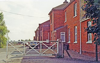 Fleet railway station (Lincolnshire) - The station building in 1998