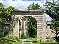 Fleurines (60), Saint-Christophe, ferme du prieuré, portail.jpg