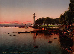 Flickr - …trialsanderrors - The lighthouse of Fenerbahçe, Constantinople, Turkey, ca. 1899.jpg
