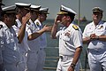 Flickr - Official U.S. Navy Imagery - Rear Adm. Michael C. Manazir salutes while reviewing Spanish navy sailors..jpg