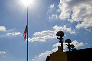 Flickr - The U.S. Army - Flags lowered at Fort Hood