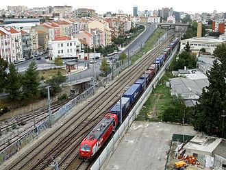 São Domingos de Benfica - The Volta railline in São Domingos