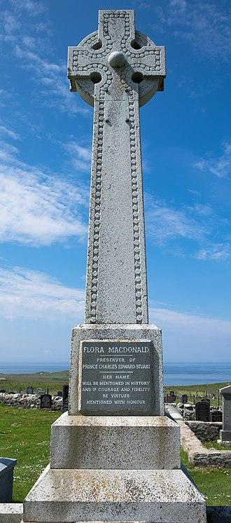 Flora MacDonald - Monument in Kilmuir Cemetery