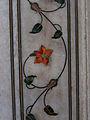 Floral motiv, Diwan-i-Khas, Red Fort, Delhi.jpg