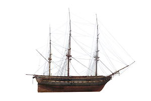 French frigate Manche (1806) - Image: Flore IMG 2242