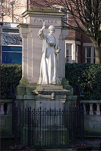 Lady Feodora Gleichen - Florence Nightingale - geograph.org.uk - 716771
