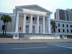 Photographie du Capitole de Floride, à Tallahassee.