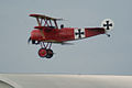 Fokker Dr.I Manfred Richthofen Pass two 09 Dawn Patrol NMUSAF 26Sept09 (14576894756).jpg