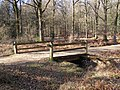 Footbridge across Linford Brook, Milkham Inclosure, New Forest - geograph.org.uk - 330586.jpg