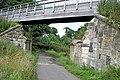 Footbridge over Dryden Farm road - geograph.org.uk - 903311.jpg