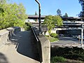 Footbridges at Orinda station, March 2018.JPG