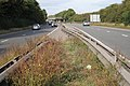 Footpath crossing of the A46 - geograph.org.uk - 1517610.jpg
