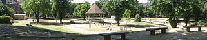 Forbury Gardens - Image: Forbury Pano