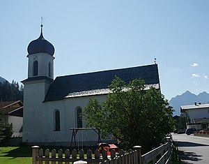 Forchach - Image: Forchach Pfarrkirche 1030