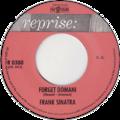 Forget Domani by Frank Sinatra Netherlands vinyl single.png