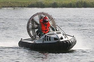 Hovercraft - A Formula 1 racing hovercraft