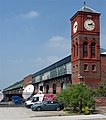 Former transit shed, Toxteth Dock, Liverpool (geograph 5063718).jpg