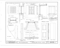 Fort Christiansvaern, Company Street vicinity, Christiansted, St. Croix, VI HABS VI,1-CHRIS,4- (sheet 20 of 26).png