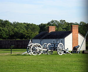Fort George, Ontario - Image: Fort George NOTL 2