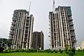Forum Atmosphere - Residential Complex and Ideal Unique Centre - Office Building - Under Construction - Kolkata 2014-08-26 6204.JPG