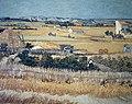 Foto van een schilderij van Vincent van Gogh, Bestanddeelnr 255-9138.jpg