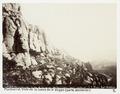 Fotografi av Montserrat. Vista de la cueva de la Virgen (parte posterior) - Hallwylska museet - 104749.tif