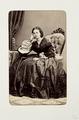 Fotografiporträtt på Selma Charlotta Key - Hallwylska museet - 107761.tif