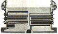 Four à sept cornues Coupe verticale.png