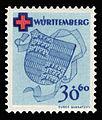 Fr. Zone Württemberg 1949 42A Rotes Kreuz.jpg