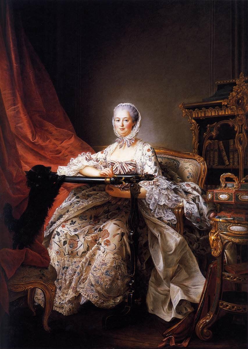 François-Hubert Drouais - Madame de Pompadour - WGA6694