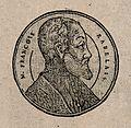 François Rabelais. Woodcut. Wellcome V0004861.jpg