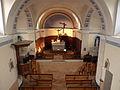 France Isère Herbeys church Interior 3.jpg