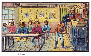 Learning - Future school (1901 or 1910).