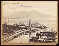 Francis Frith - Napoli, Porto con molo e Lanterna.jpg