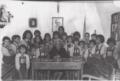 Francisca Santos Melián y sus alumnos 1970.png
