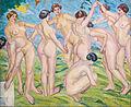Francisco Iturrino - Nudes (Women Dancing in a Ring) - Google Art Project.jpg