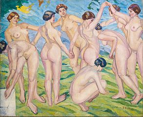 Nudes (Women Dancing in a Ring)