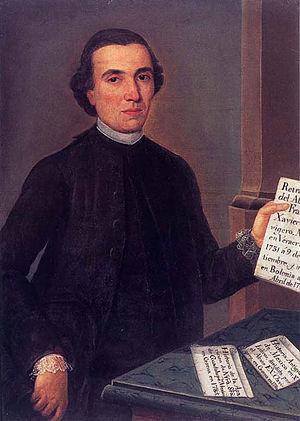 Francisco Javier Clavijero - Image: Francisco Xavier Clavijero,