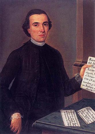 Spanish American Enlightenment - Francisco Javier Clavijero, Jesuit Mexican creole patriot.